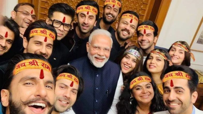 Ranveer Singh's Epic Selfie with Narendra Modi and Bollywood Brigade Becomes The New Fodder For Meme Makers - Check Out the Funniest Ones