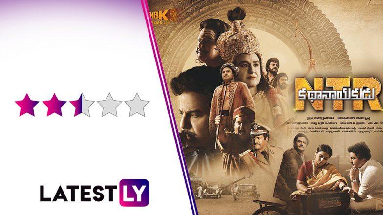 NTR Kathanayakudu Movie Review: Nandamuri Balakrishna and Vidya Balan's Engaging Performance Drives This Otherwise Slow-Paced Biopic