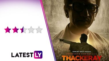 Thackeray Movie Review: Nawazuddin Siddiqui's Power-Packed Portrayal Works in Favour of This Idol Worship