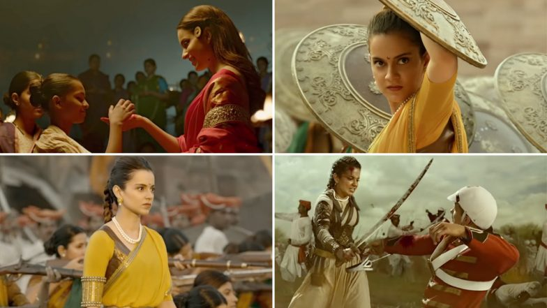 Manikarnika Song Vijayi Bhava: Kangana Ranaut is Fiercely Determined and Ready For a War Against her Mighty Enemy