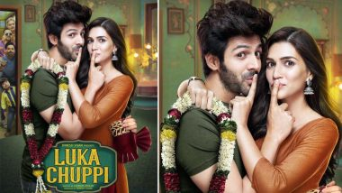 Luka Chuppi No More! Kartik Aaryan and Kriti Sanon's Movie Trailer to Release Tomorrow