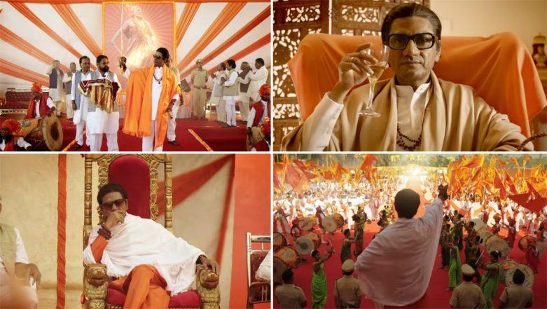 Thackeray Song Aaya Re Thackeray Starring Nawazuddin Siddiqui Is A Perfect Homage to Balasaheb Thackeray- Watch Video