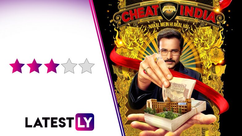 Why Cheat India Movie Review: Emraan Hashmi and Shreya Dhanwanthary Empower This Scathing Morality Tale With Fine Performances