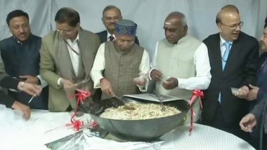 Budget 2019: Halwa Ceremony Held in Finance Ministry to Mark The Beginning of Printing of Documents