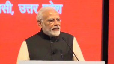 Pravasi Bharatiya Divas 2019 Convention Inaugurated by PM Narendra Modi in Varanasi