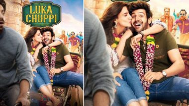 Luka Chuppi New Poster: Kartik Aaryan and Kriti Sanon's Rom-Com Promises a Fun-Filled Ride