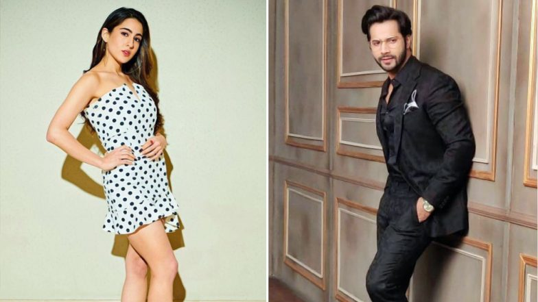 Will Sara Ali Khan's Dream to Work With Varun Dhawan Come True? The Actress May Sign Coolie No 1 Remake