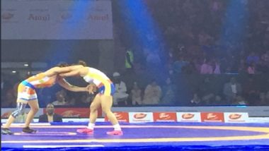 Pro Wrestling League Season 4: Vinesh Phogat Guides Mumbai Maharathi to 4–3 Win Over Haryana Hammers