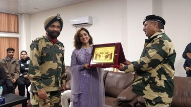 Uri: The Surgical Strike Actress 'Yami Gautam' Felicitated by Border Security Force in Amritsar