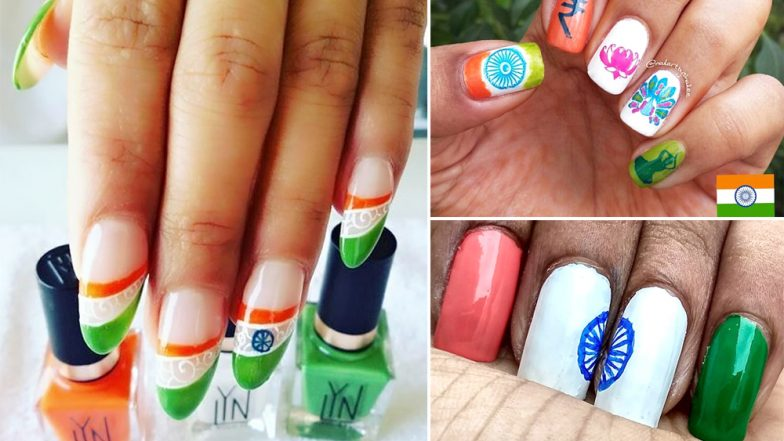 Republic Day 2019: Try These Indian Nail Art Designs This 26th January That Are Beyond Creative (View Pics)