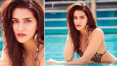 Kriti Sanon's 'Pheeka' Visual From Dabboo Ratnani's Calendar 2019 Will Leave You Asking For Something More!