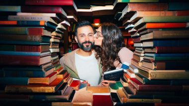 Sonam Kapoor and Anand Ahuja's Library Romance Will Remind You of Your College Sweetheart
