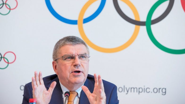 IOC Chief Thomas Bach Gives Thumps Up For China's Vision On Promoting 300 Million People to Winter Sports In Beijing