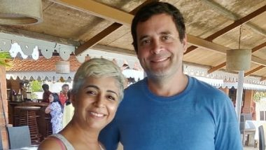 UPA Chairperson Sonia Gandhi and Rahul Gandhi, on Private Visit to Goa, Go to Beach Restaurant