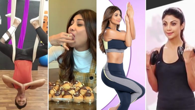 Shilpa Shetty to Launch Her Health App: Pictures and Videos to Prove That Actresses the True Fitness Diva in B-Town Who Cheats Like a Pro