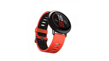 Huami Amazfit Verge Smartwatch Launched in India; To Be Available Via Amazon For Rs 11,999