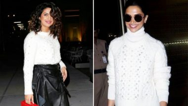 Deepika Padukone Picks The Same Rag & Bone Sweater as Priyanka Chopra and This Proves 'Like Minds Think Alike'