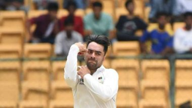 AUS vs AFG Test: Afghanistan Leg-Spinner Rashid Khan Says 'Playing Test Cricket Against Australia in Australia More Than a Dream'