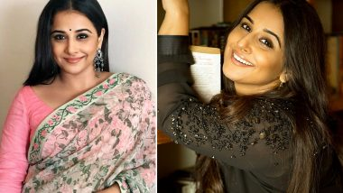 Vidya Balan: Even At My Thinnest, I've Always Felt Fat