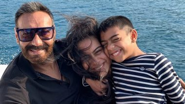Not Just Ajay Devgn But We Are Smiling Too After Seeing His Latest Family Pic With Kajol and Yug