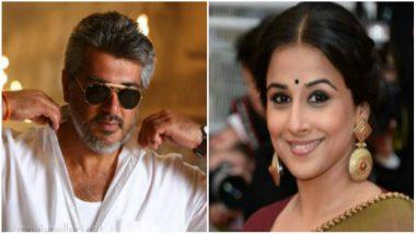 Vidya Balan to Make Tamil Debut with 'Pink' Remake Opposite Ajith Kumar