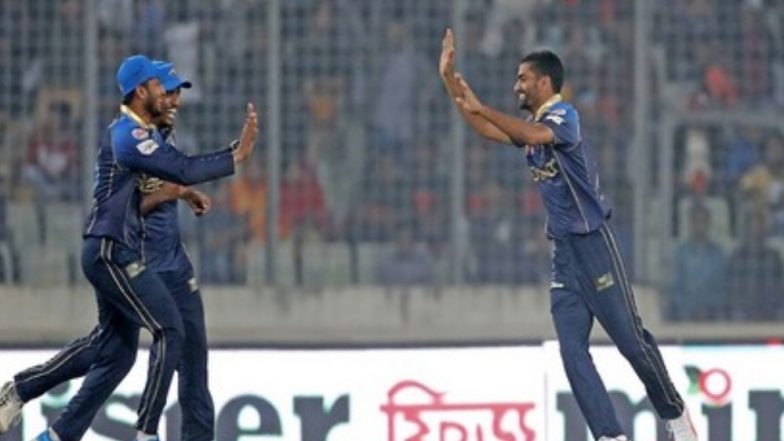 BPL 2019 Video Highlights: Watch Aliss Islam Claim Hat-Trick on Bangladesh Premier League T20 Debut