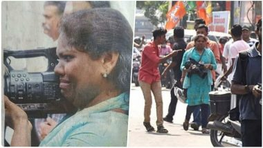 Amidst The Sabarimala Riots, Pic of Weeping Camerawoman Shajila Abdulrehman Abused By Goons For Doing Her Job Goes Viral