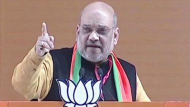 Rahul Gandhi, Arvind Kejriwal Cried Like Their Cousins Were Killed in Balakot Airstrike, Says Amit Shah
