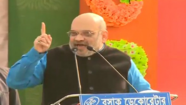 Amit Shah Sounds Poll Bugle in West Bengal With Scathing Attack on TMC and Mamata Banerjee