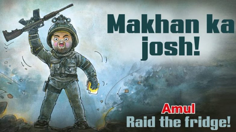 'What an Utterly Butterly Honour!' Uri Star Vicky Kaushal Thanks Amul for 'Makhan Ka Josh' Topical Ad