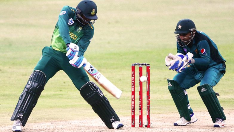 Live Cricket Streaming of Pakistan vs South Africa ODI Series on SonyLiv, PTV & Ten Sports: Check Live Cricket Score, Watch Free Telecast of PAK vs SA 3rd ODI 2019 on TV & Online