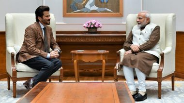 Anil Kapoor and Narendra Modi Twinning in Brown is Making Us Wonder If It was a 'Planned Move' - See Pic