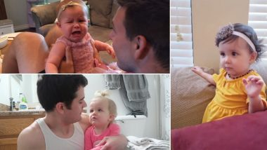 These Videos of Babies Not Recognising Their Dads After Shaving Beard are Adorably Cute