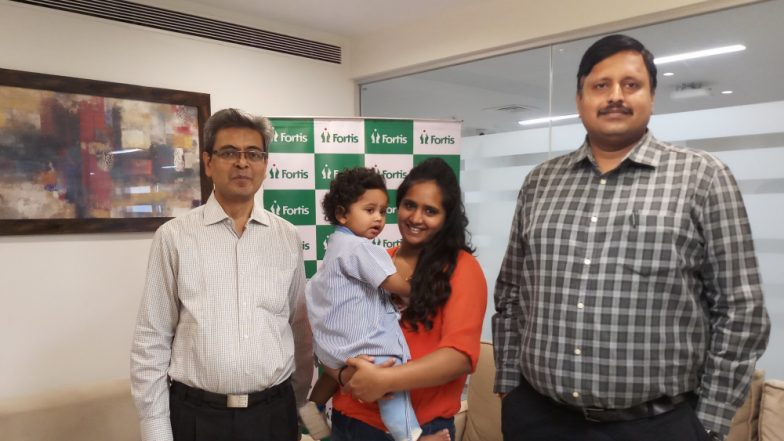 Baby Atharva Who Miraculously Survived a Fall From 4th Floor Discharged From The Hospital
