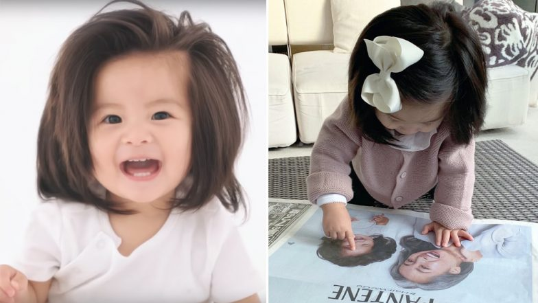 Baby Chanco Features in Pantene Ad: Japanese Kid Who Went Viral For Her Lovely Hair is Now a Model, Watch Video