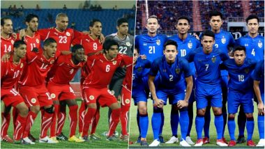 Bahrain vs Thailand, AFC Asian Cup 2019 Live Streaming Online: How to Get Asia Cup Match Live Telecast on TV & Free Football Score Updates in Indian Time?