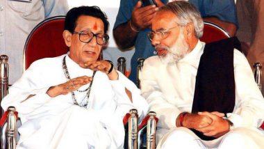 Balasaheb Thackeray 93rd Birth Anniversary Today: PM Narendra Modi Remembers the Shiv Sena Founder on His Jayanti