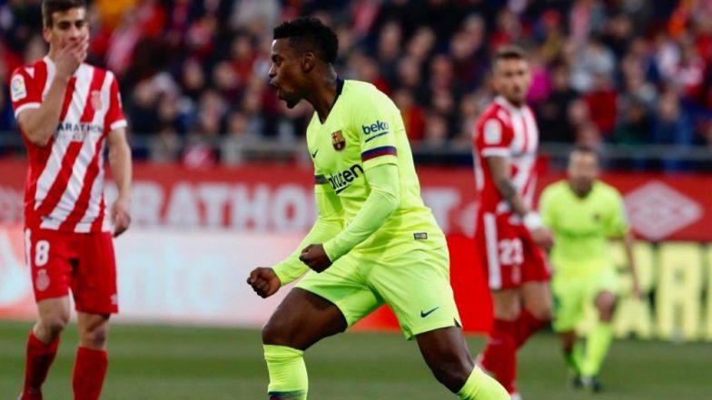 La Liga 2018–19: Nelson Semedo Score First Goal for Barcelona, Registers Win Over Girona 2-0