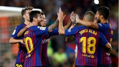 Barcelona vs Valencia Live Streaming Online: How to Get Spanish La Liga 2018–19 Match Live Telecast on TV & Free Football Score Updates in Indian Time?