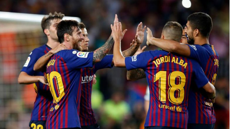 Barcelona vs Leganes Live Streaming Online: How to Get Spanish La Liga 2018–19 Match Live Telecast on TV & Free Football Score Updates in Indian Time?