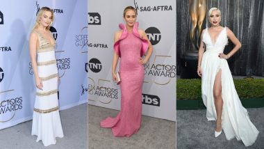 SAG Awards 2019 Best Dressed Celebs: Lady Gaga, Emily Blunt, Margot Robbie Head The List With Exquisite Gowns And Classy Looks