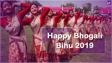Magh Bihu 2019 Images & HD Wallpapers Free Download Online: Wish Happy Bhogali Bihu With Beautiful GIF Greetings & WhatsApp Sticker Messages