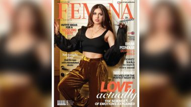 Bhumi Pednekar Flaunts a HOT Velvet Look on the Magazine Cover of Femina's February 2019 Issue (View Pic)