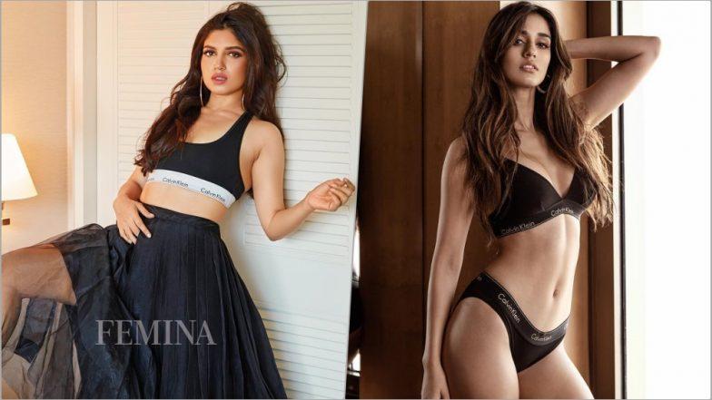 Bhumi Pednekar vs Disha Patani in Calvin Klein: Who Slays in Black CK Bra? See Pics