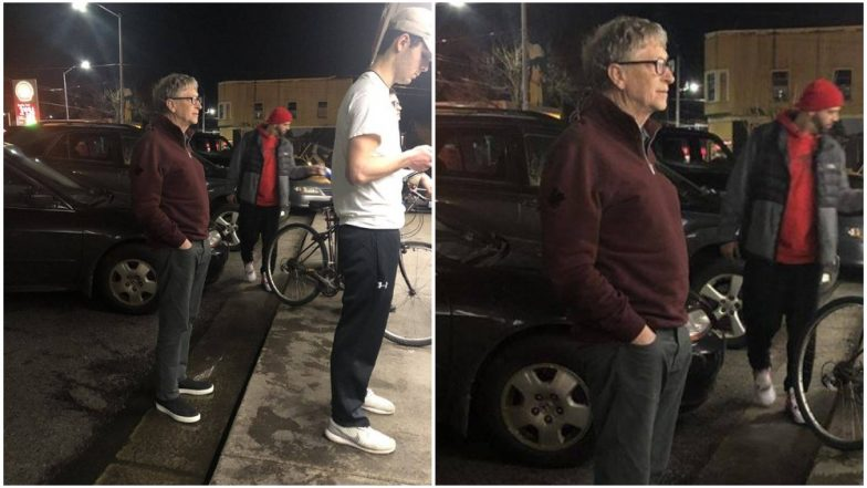 Bill Gates Waits in Line to Order Burger From Dick's Drive-In in Seattle (See Picture)