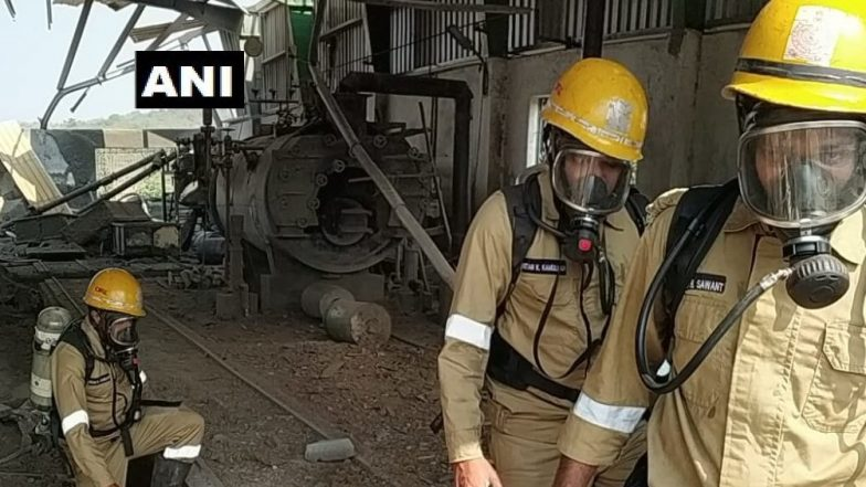 Goa: Explosion in Cement Block Factory at Tuem Industrial Estate Injures Six workers, Three Critical