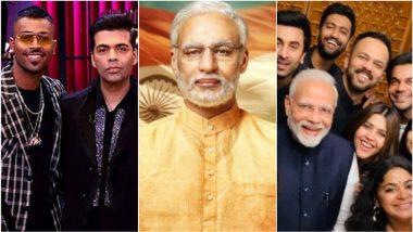 Karan Johar Getting Trolled, Vivek Oberoi's Modi Biopic, Bollywood Selfie: Check Out the Biggest Newsmakers of This Week