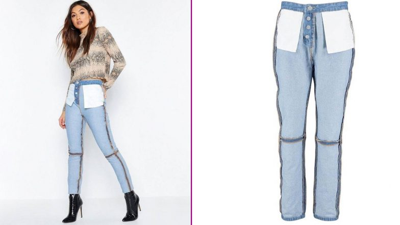 42c5a6736c UK Fashion Brand Boohoo's 'Reverse Stitched Jeans' Fails to Impress Social  Media Users (