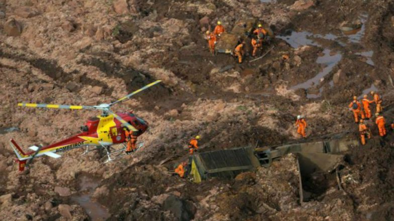 Brazil Dam Collapse: Death Toll Rises to 58, Over 300 Missing