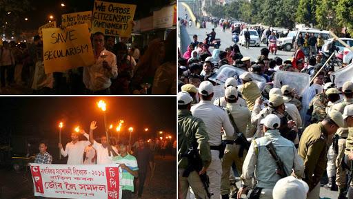 Citizenship Amendment Bill: Mizoram, Manipur and Assam Students Boycott Republic Day Celebrations, Burn Effigies of Narendra Modi, Rajnath Singh